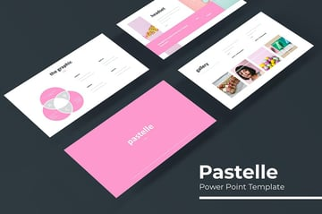 Pastella - PPT Template a minimalistic template on Envato Elements
