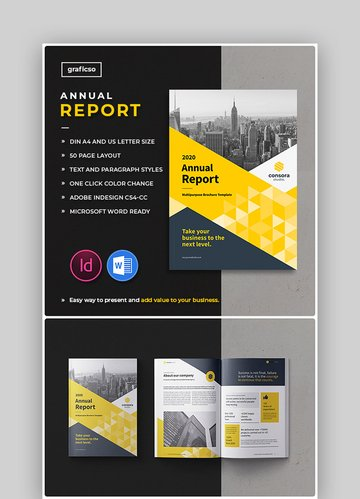 2020 Annual Report Template Word