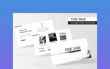 The 1945 - Vintage PowerPoint Theme