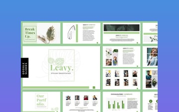 Leavy - Classy Presentation Template
