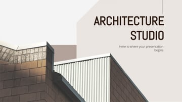 Architecture Studio - Free Architecture Background Images for PowerPoint Presentations