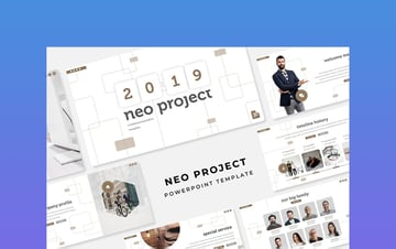 Neo Project - Storyboard Template for PowerPoint