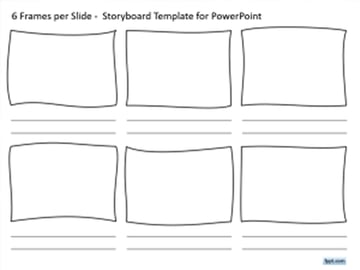 Six Frames - Free Storyboard PowerPoint Presentation