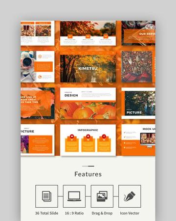 Autumn Multipurpose PowerPoint Template