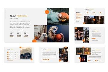 Halloween Theme PowerPoint Template