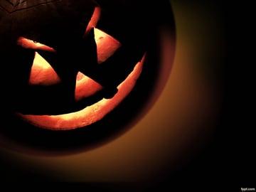 Pumpkin Face - Halloween Background Free