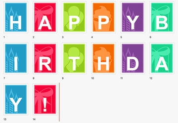 Banner - Free Birthday PPT Download