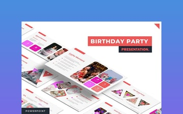 Birthday Party - Birthday PPT Presentation Download