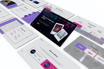Party Planner Powerpoint Template a premium pre-built template on Envato Elements