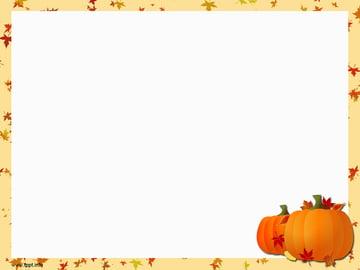 Pumpkin - Free PowerPoint Backgrounds Thanksgiving