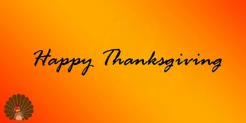 Simple Free PowerPoint Backgrounds Thanksgiving