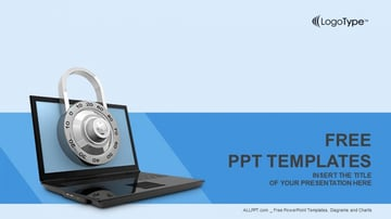 Computer - Free Security PowerPoint Templates