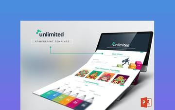 Unlimited List PowerPoint Slide Template