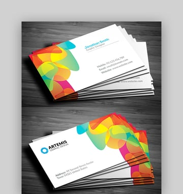 Full-Color Business Card Design
