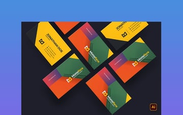 Business Card in Color Ideas