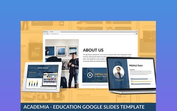 Academia - Google Slides Themes History
