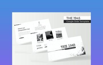 The 1945 - Google Slide Themes History