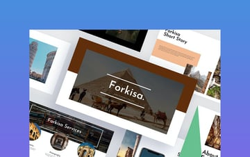 Forkisa - History Powerpoint Template