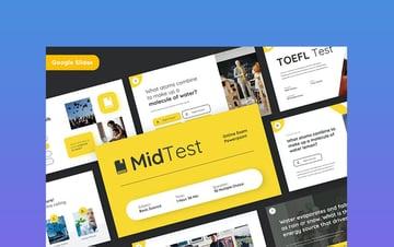 MIDTEST - Education Quiz Google Slides Template