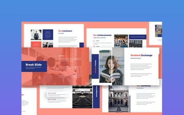 Academia - Education Google Docs Poster Template