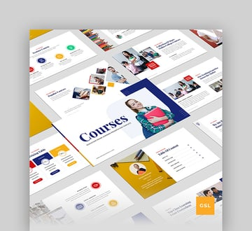 Online Course - Education & Learning Google Poster Template