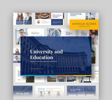 University and Education - Poster Template on Google Slides