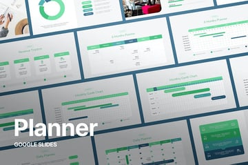 Rutina - Planner Template Google Slides, a premium calendar template from Envato Elements