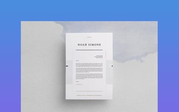 Design Format Letter of Resignation Word Template