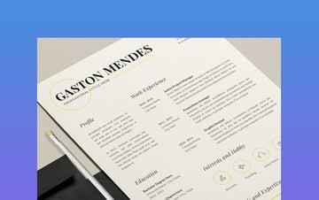 Gaston Resignation Letter Template Word Format