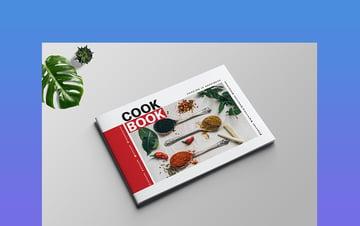 Landscape Cookbook Template Word