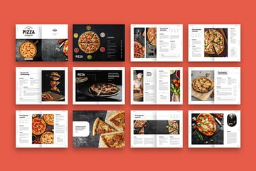Pizza Cookbook, a premium well-designed template from Envato Elements