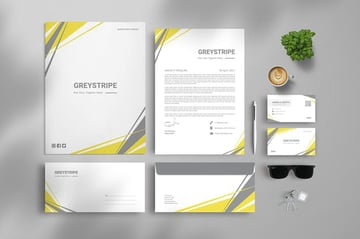 Branding Identity & Stationery Set, a premium set from Envato Elements