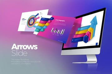 Arrow PowerPoint Presentation, a premium PPT template from Envato Elements