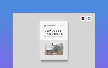 Employee Handbook Training Workbook Template Word