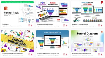 Discover loads of premium PowerPoint funnel templates on Envato Elements