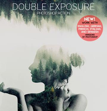 Photoshop Action - Double Exposure