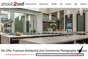 Shoot2sell photography sales copy