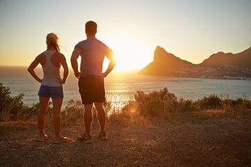 Good Personal Habit - Contemplating After Jogging