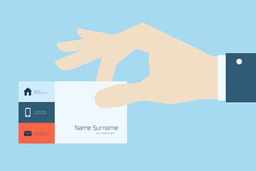 Give Out Your Business Card