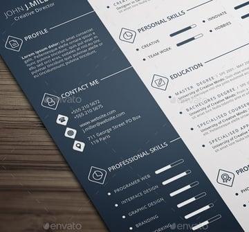 Skills-based cv resume