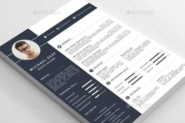 Creative skills-based resume template