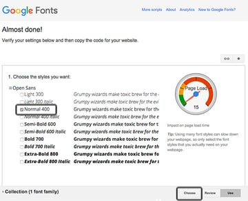 Download font style