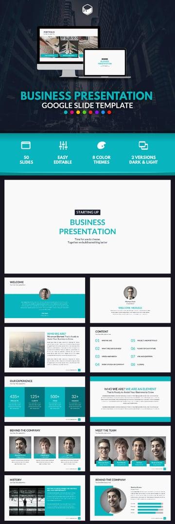 Business Presentation - Google Slide Template