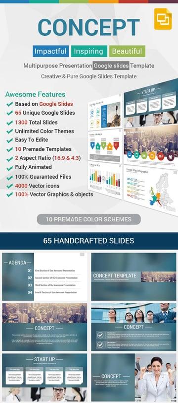 Concept Google Slides Presentation Template