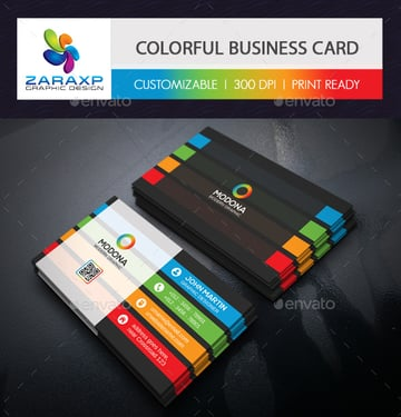 Graphic Business Card Template