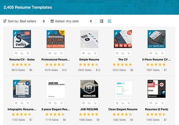 Creative Infographic Resume Templates