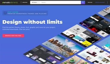 Envato Elements Design Without Limits