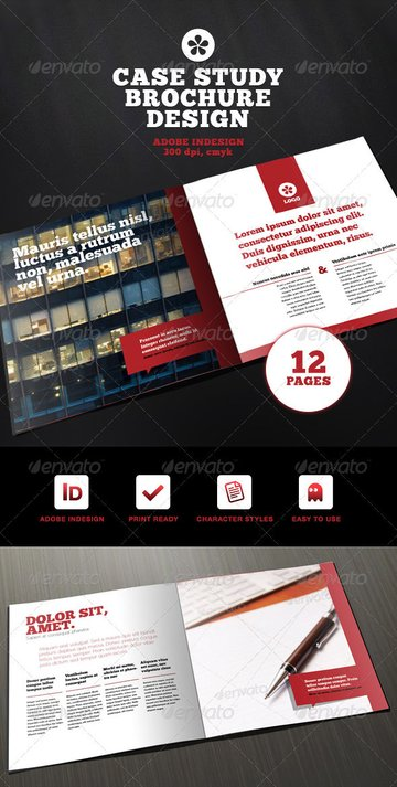 Professional Case Study Brochure Design