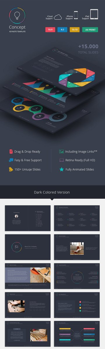 Concept Keynote Template