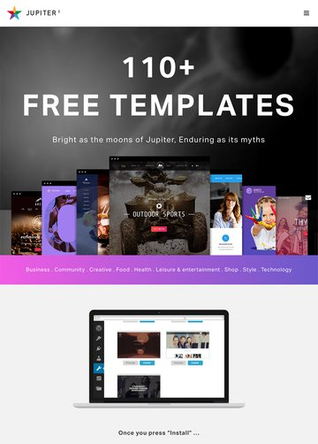 Jupiter Multi-Purpose WordPress Business Corporate Theme